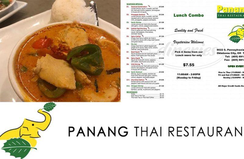ร้าน Panang Thai อร่อยได้ในรัฐ Oklahoma